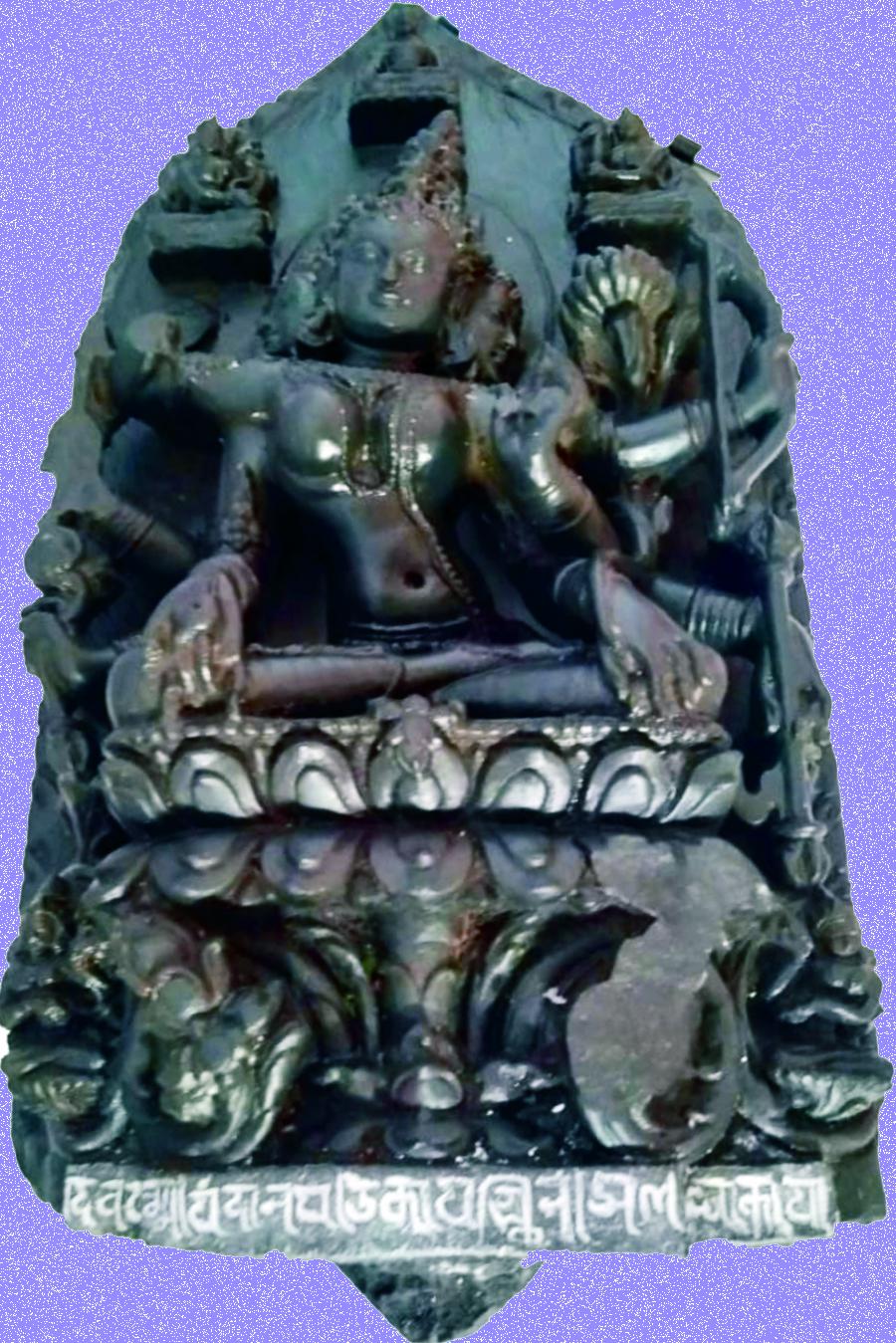 शेखपुरा के पचना गाँव की पहाड़ी से मिली तारा की मूर्ति